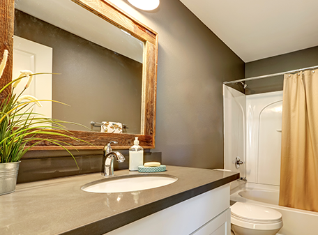 Bathroom Mirror Installation mirror installation and repairs | st. charles & st. louis, mo